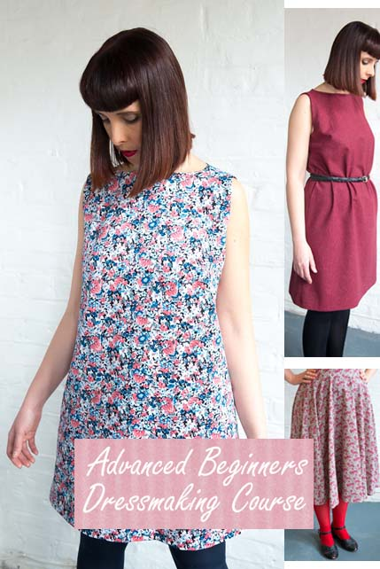 Advanced beginners dressmaking course