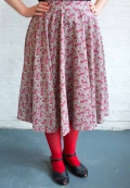 Circle skirt dressmaking intro
