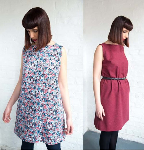 Advanced beginners dressmaking course shift dress
