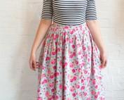 easy gathered skirt