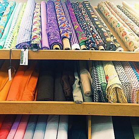 fabric shops in london