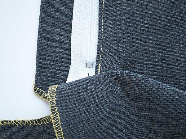 how to sew a fly front zip