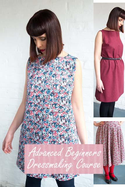 Advanced beginners dressmaking course