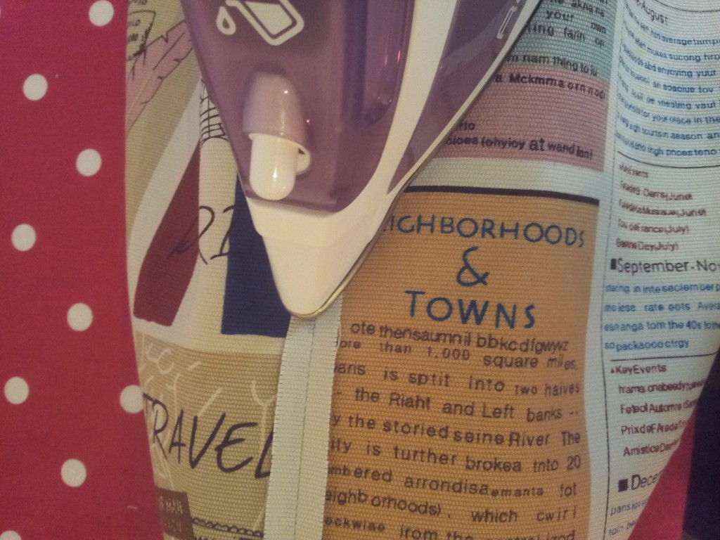 Learn to sew French seams