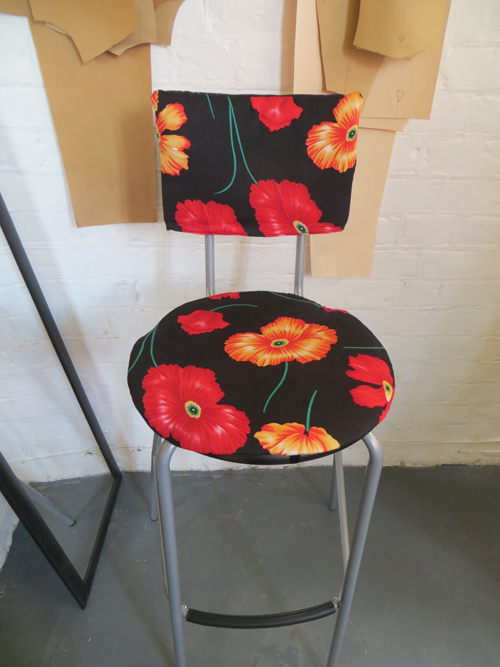 Sewing for the home. DIY stool project 10 (2)