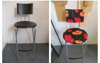 DIY stool makeover