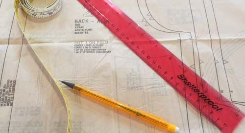 How to choose your sewing pattern size