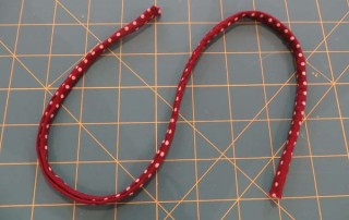 How to make Rouleaux straps