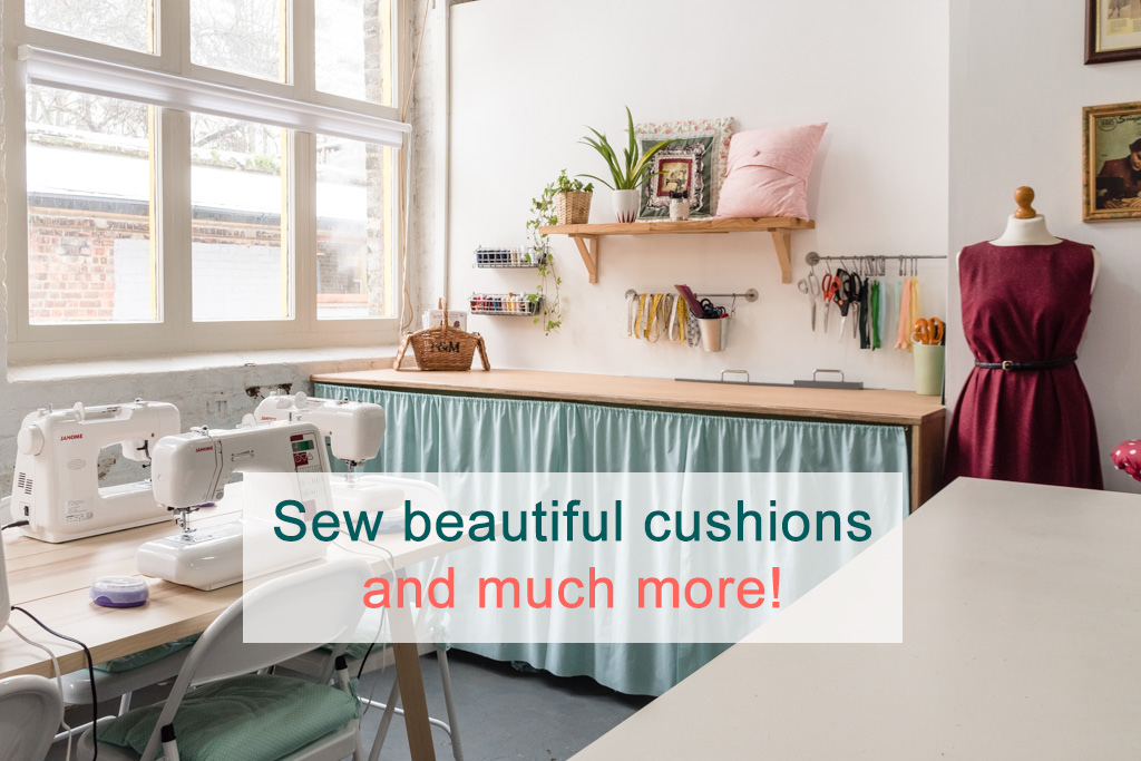 Sew cushions and more
