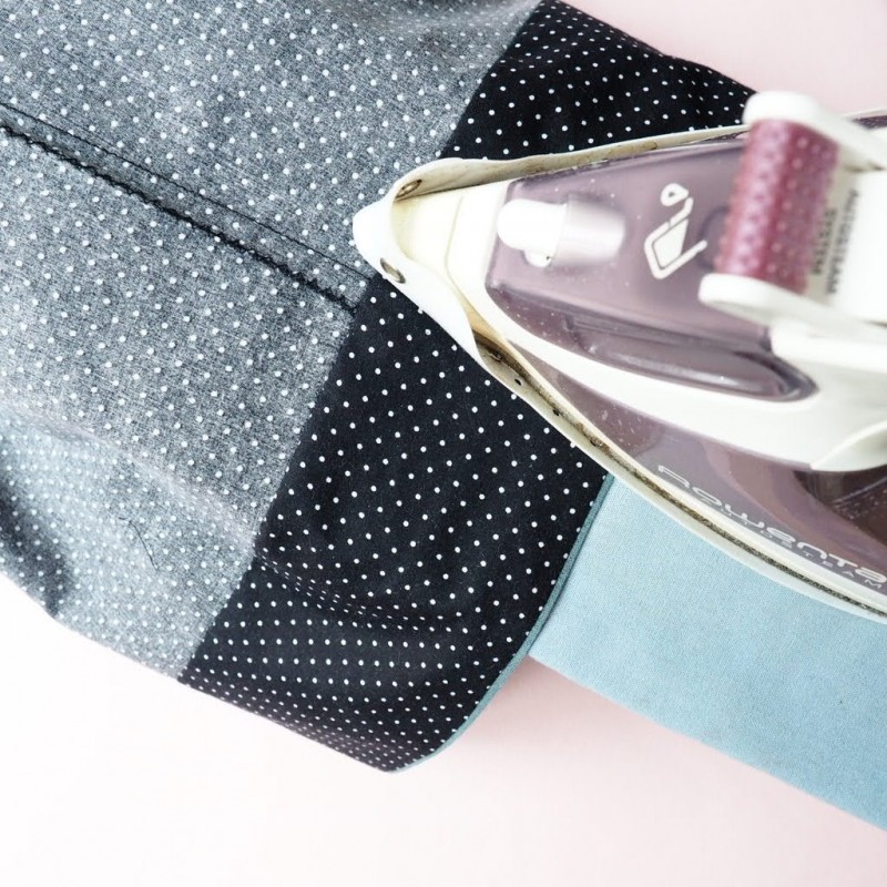 How to add a piped hem to pyjama bottoms
